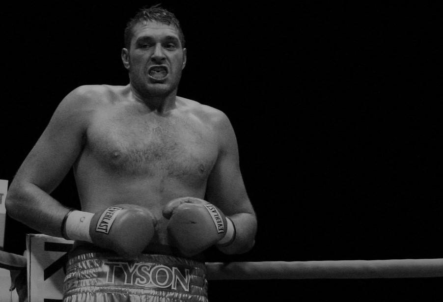 Tyson Fury chasing David Price
