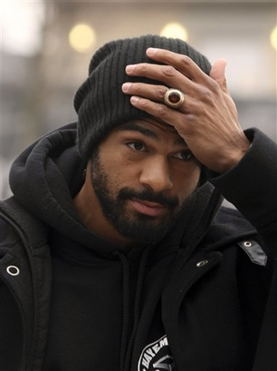 David Haye withdraws