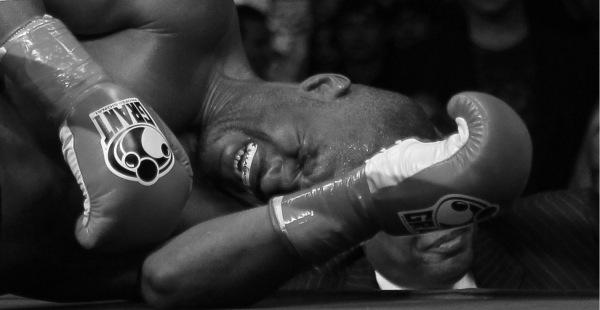 Hopkins lays injured in Dawson clash