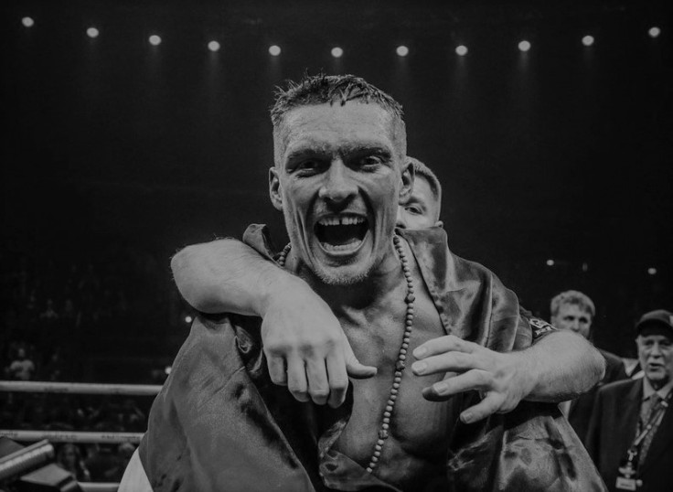 Oleksander Usyk - 2018 BoxingWriter International Fighter of the Year
