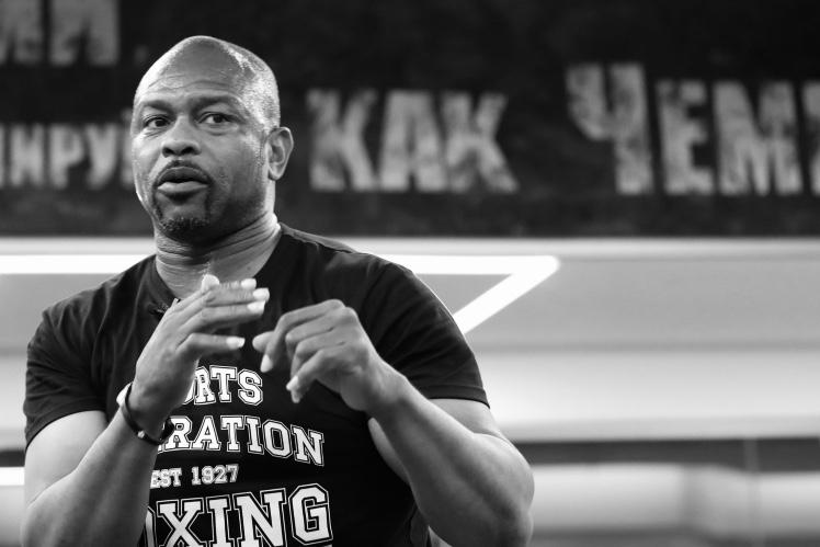 Roy Jones Junior the boxing elder