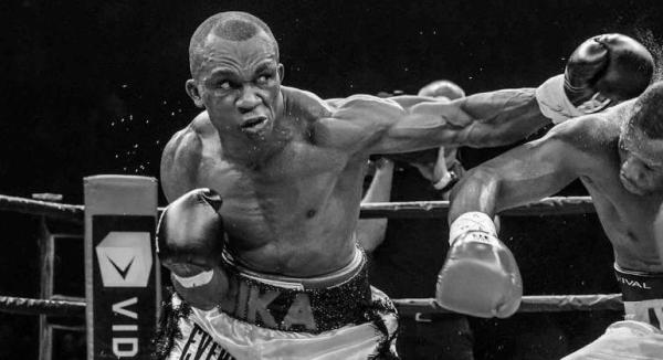 Sakio Bika throws a left hook